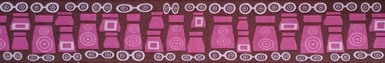 画像1: ピンクメイクアップモチーフリボン