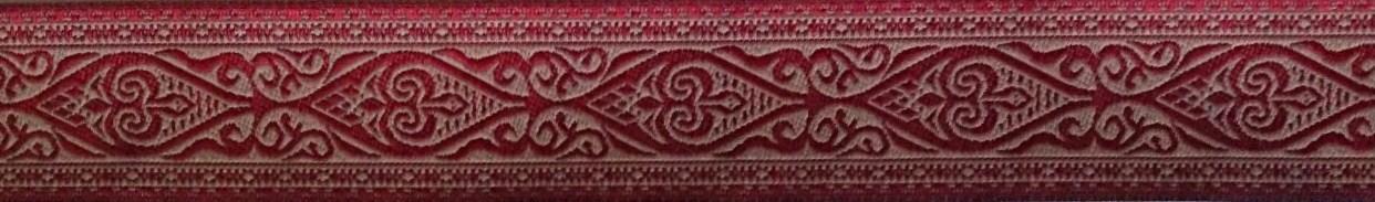 画像1: 【ハーフチョークオーダー:Ethnic(RED)】