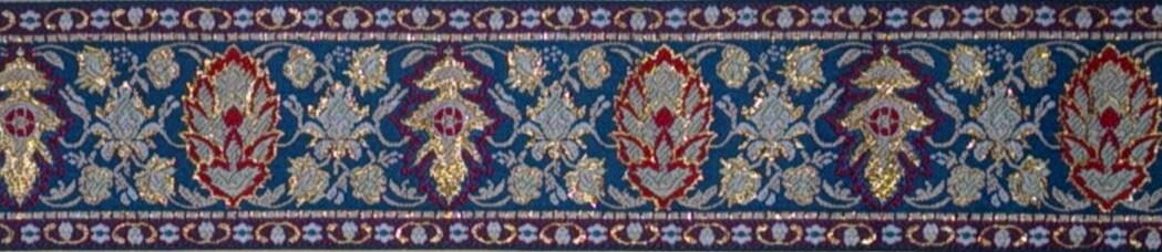 画像1: Metalic/Leaf(Blue)