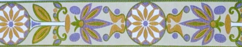 画像1: モダンアフリカン(ライム×ホワイト)