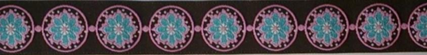 画像1: 〔IG用〕3cm幅仕上がり:Circle dots F(BL×BR)スリップチョーク ストッパー付