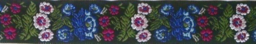 画像3: 【ハーフチョークオーダー:Floral(BK×BL×PK)】