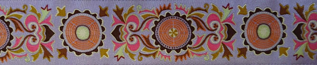 画像1: 【ハーフチョークオーダー: Mandala(Lavender)】