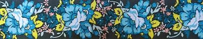 画像1: Blue Floral Garland