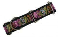 Floral(PK×YE×BL)4cm幅