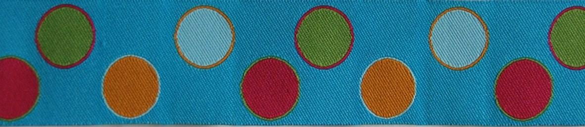 画像1: 【ハーフチョークオーダー:Dots (MIX/BL)】