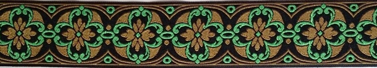 画像1: Cross×Flower(Green)