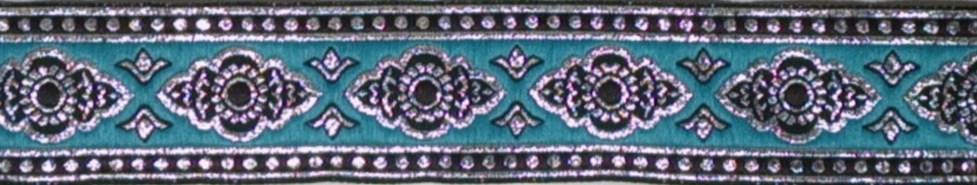 画像1: AquaBlue×Silver(BK) 3.5cm