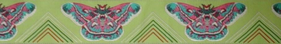画像1: 【ハーフチョークオーダー: Yellow Green butterfly】