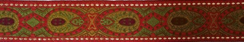 画像1: 仕上がり3cmマーチンゲール:Oriental(Red)