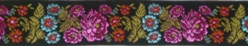 画像1: 【ベルトタイプオーダー:Floral(PK×YE×BL)】