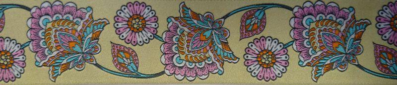 画像1: 【ベルトタイプオーダー: Tura Pink(5cm幅)】