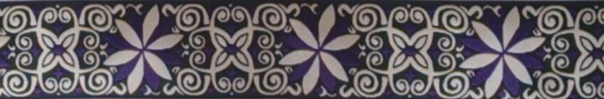 画像1: 【ベルトタイプオーダー: BB Flower(BK×PL)】