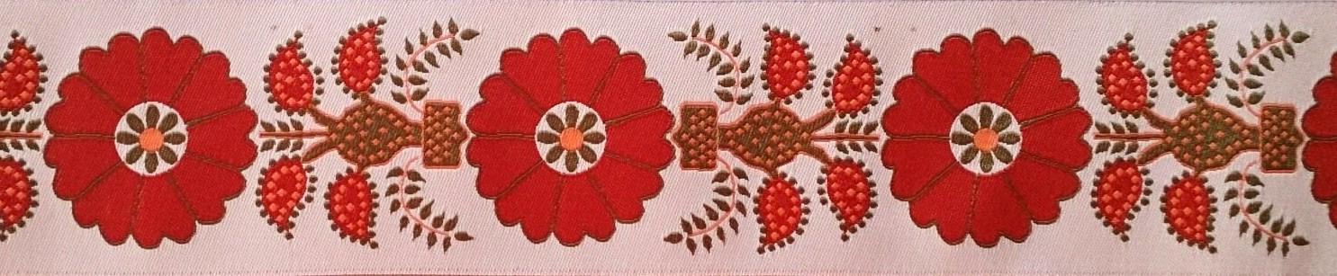 画像1: 【ベルトタイプオーダー:Orange Flower