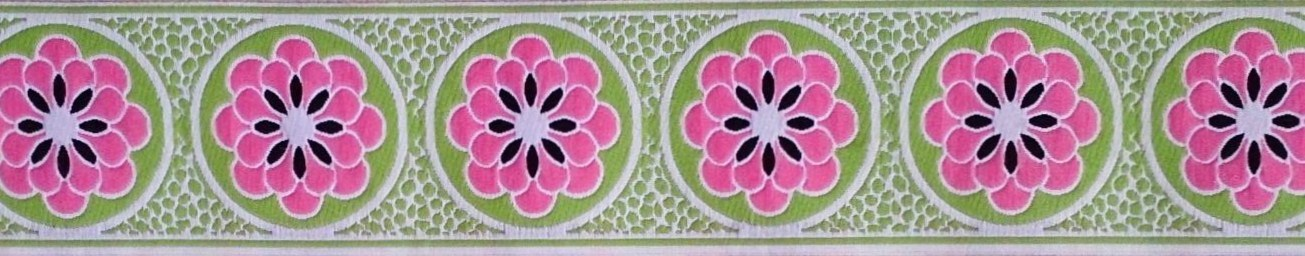 画像1: 【ベルトタイプオーダー: Daisy dot flower(LM×PK) 】