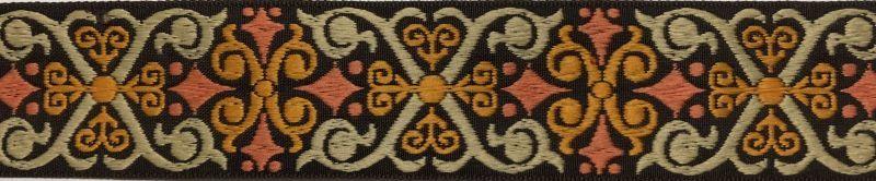 画像1: Celtic Cross(BR×OG)4cm幅