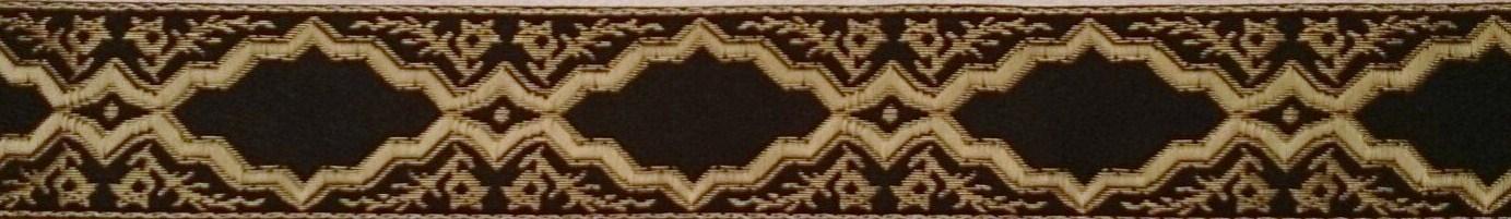 画像1: 〔IG用〕4cm幅仕上がり:Black Ranaissance 3.5cmスリップチョーク ストッパー付