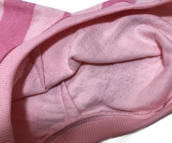 画像3: pink wide border tank