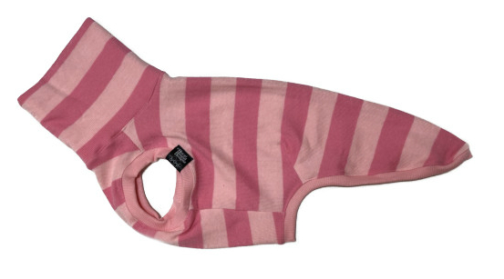 画像1: pink wide border tank